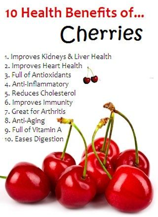 Add cherries as the healthiest fruit in your daily diet  and grab the 10 health benefits of cherries!