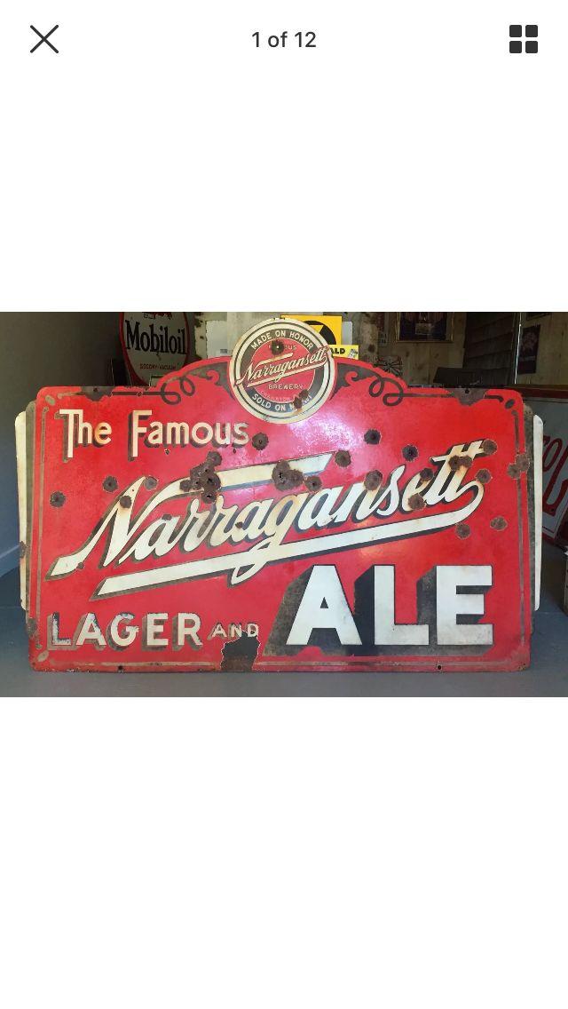 Narragansett Beer Sign