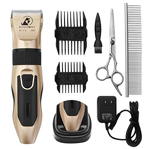 Dog Grooming Clippers Cordless Quiet Pet Hair Clippers Trimmer