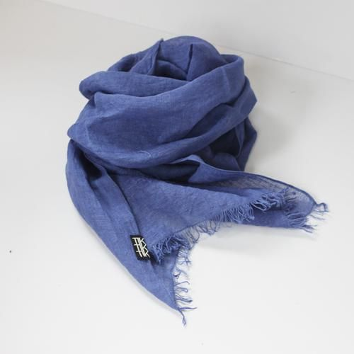 LINEN SHAWL by Tikau (blue)