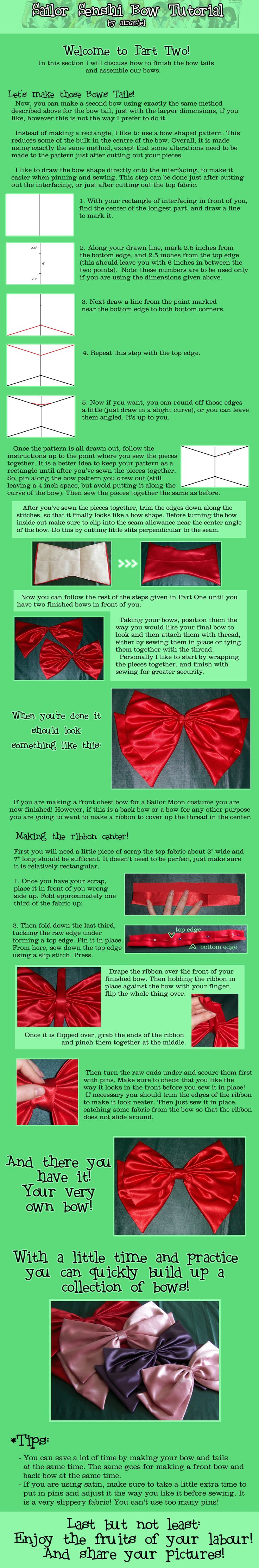 Sailor Senshi Bow Tutorial Two by amariel.deviantart.com