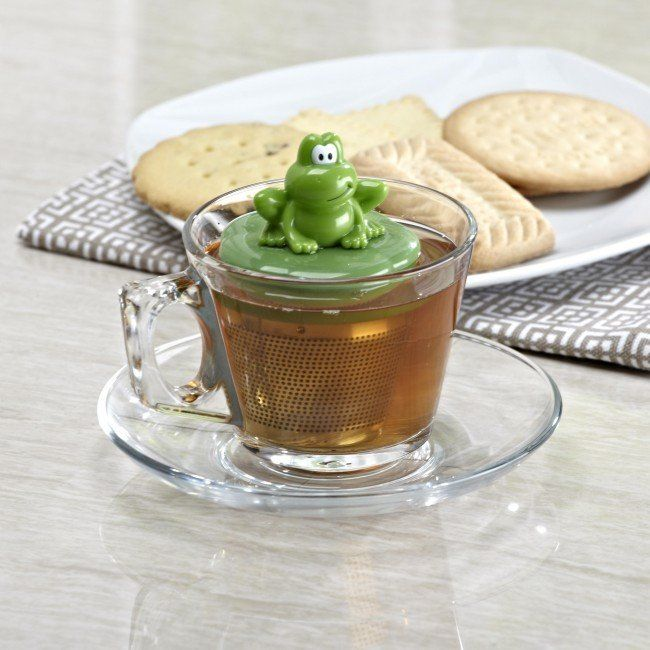 Infuse your tea with a fun and functional Floating Tea Infuser.