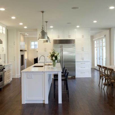 Contemporary Home small open plan kitchen living room Design Ideas   Pictures  Remodel and Decor. 17 Best images about Chobham house on Pinterest   Canada  Medicine