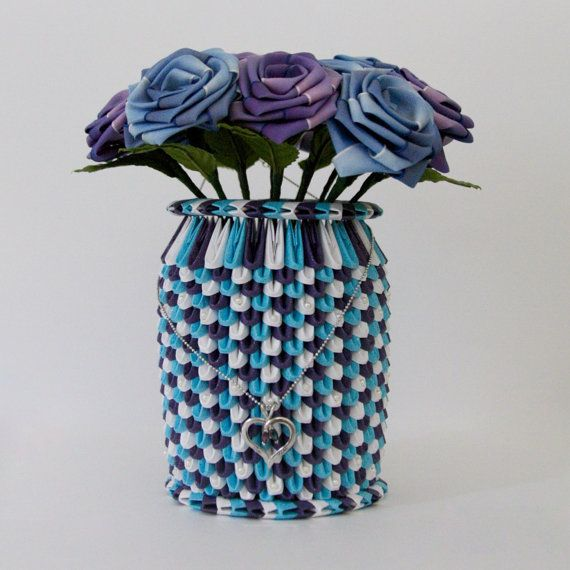 Vase 3d Origami Diagram: 1000+ Images About Origami On Pinterest