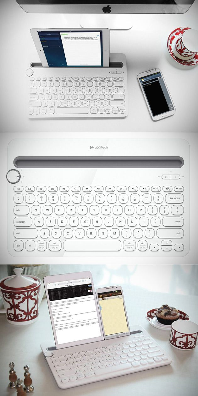 Logitech Bluetooth Keyboard K480 is Great for Smartphones and Tablets