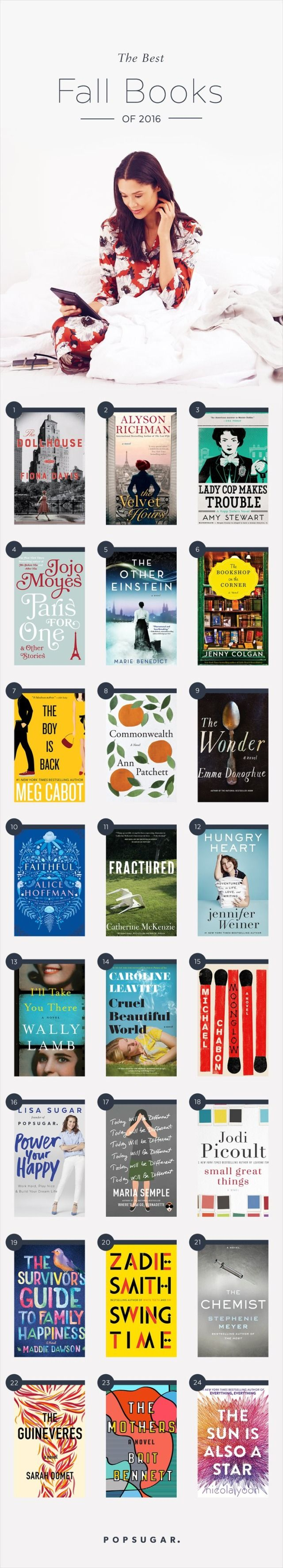 The 25 books that are perfect for cozying up with this fall