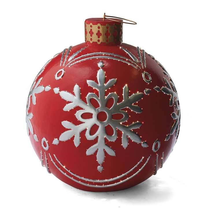32 best christmas outdoor decor images on pinterest for Outdoor merry christmas ornaments