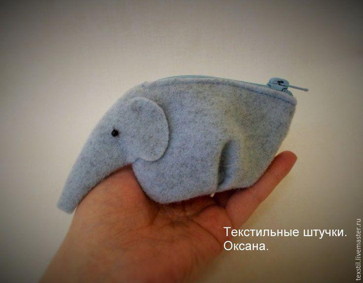 Bolsinha de elefantinho