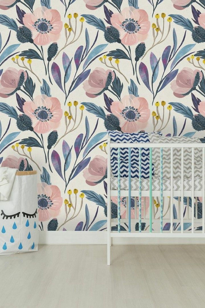 Smart Wallpaper Tips For Small Rooms That Big In Styles Decorholic Co Removable Wallpaper Peel And Stick Wallpaper Wallpapers Vintage