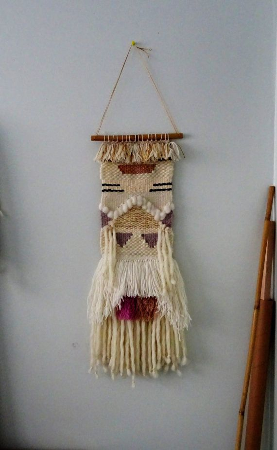 Woven Hanging Tapestry by racheljOK on Etsy, $175.00