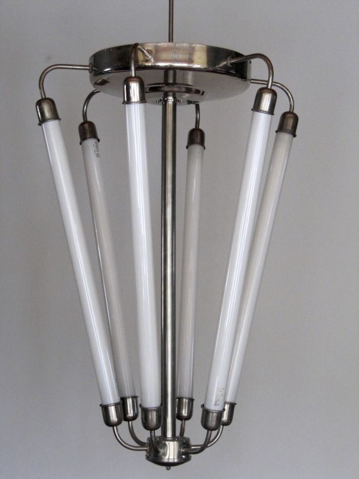 This Large Lobby Lamp Was Designed And Manufactured In Germany Around 1940 A Modernist Bauhaus