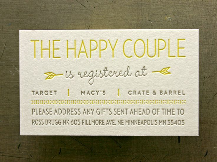 Where To Register For Wedding Gifts: Wedding Registry 101: The 4 Major Things You NEED To Know