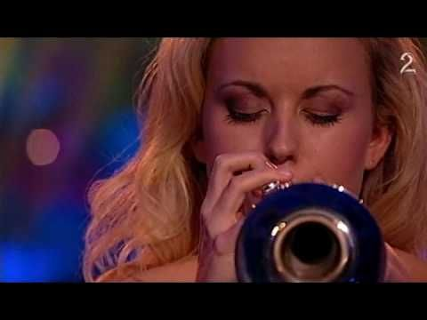 Tine Thing Helseth - Mitt hjerte alltid vanker (TV2, Dec. 2009)    A Norwegian trumpet Christmas Carol played by a woman in evening dress.  Unusual, and beautiful.