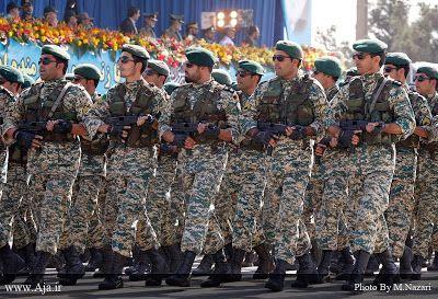 """Pasukan Khusus Iran: """"Quds Force"""" adalah satuan khusus Angkatan Darat Negara Iran Penjaga Revolusi Islam (Garda Revolusi). Telah bertugas mengawal revolusi Islam Iran,  dan bertanggung jawab untuk """"operasi ekstrateritorial"""" dari Pengawal Revolusi."""