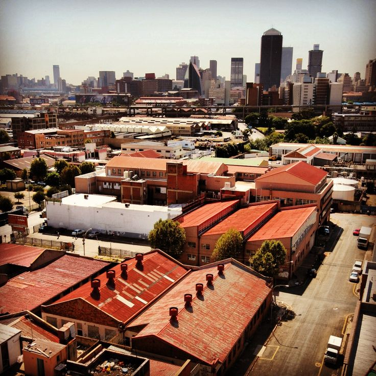 Jozi has the best red tin roof collection in it's industrial area, south of the CBD. www.southafrica.net
