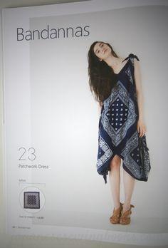 Patchwork Bandana Dress from Stylish Remakes