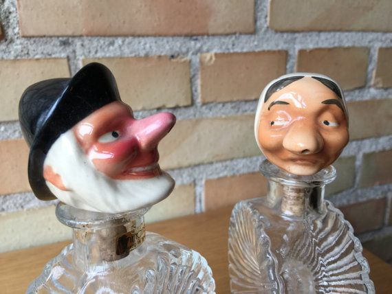 On #QUIRKYSUNDAY we bring you a pair of old #pouring #stoppers to make you :) by Qvirky