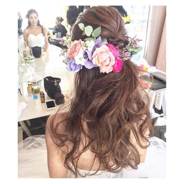 ふんわりダウンスタイルの髪型が可愛すぎ | marry[マリー]
