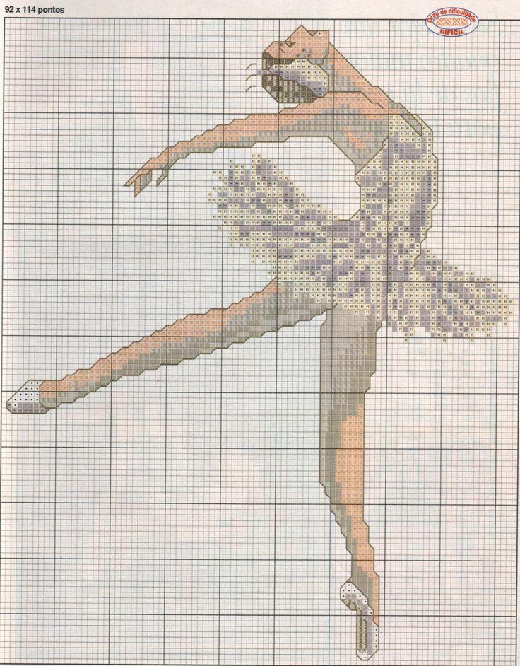 ♥ ♥ cross stitch Archives: BALLERINA