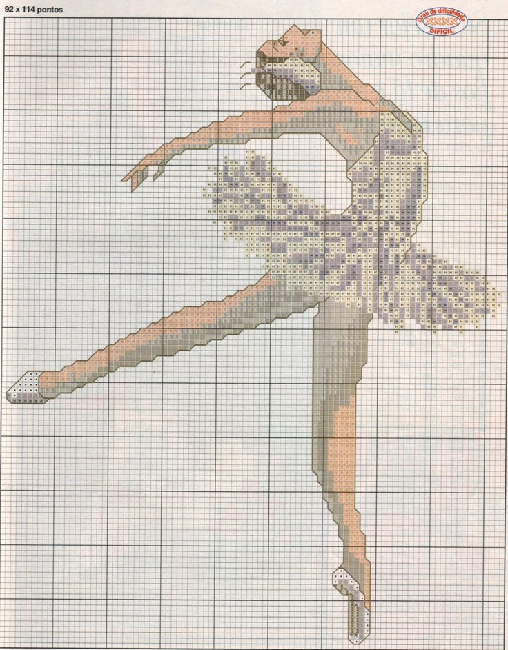 ♥ ♥ cross stitch Archives: BALLERINA
