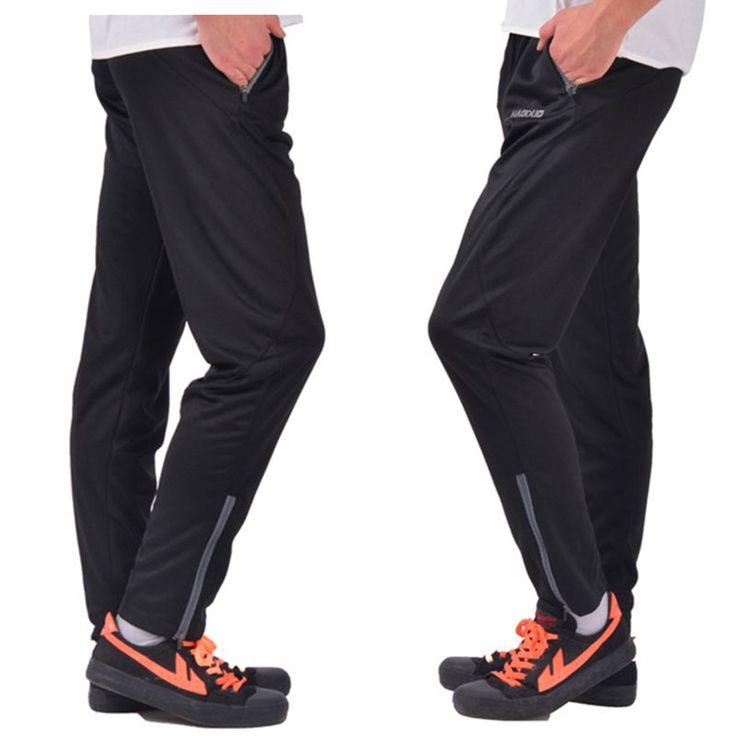 2016 מקצועי חדש כדורגל אימון מכנסיים רזים רזים מכנסיים ג 'וגינג אימונית כדורגל ריצת מכנסיים ספורט פוליאסטר רגל