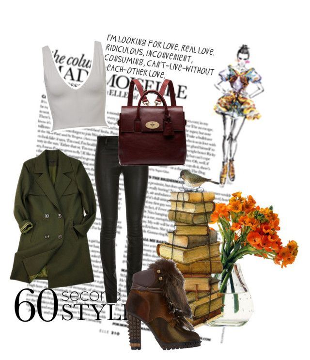 Winter Loveland by sofia-ios on Polyvore featuring polyvore, fashion, style, Fendi, Mulberry and Kookaï