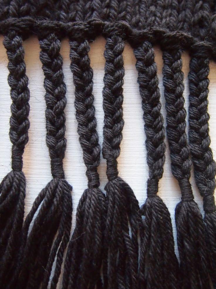 VMSomⒶ KOPPA: zwarte sjaal - de rand
