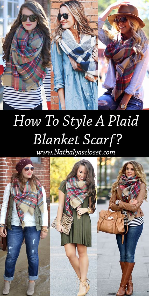 Must Have Fashion Fall: The Plaid Blanket Scarf! How would you rock this scarf? Share your thoughts with us!