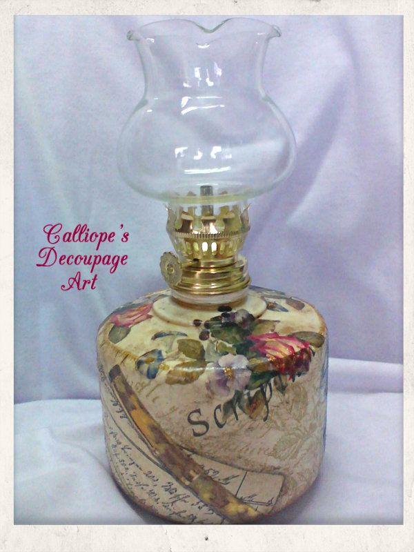 Φωτιστικά | Calliope's Decoupage Art