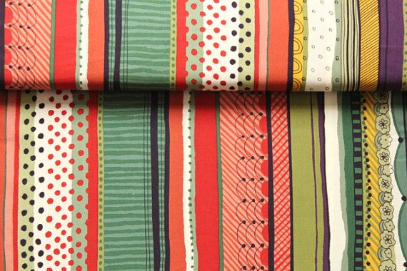 St James' Stripe by Alexander Henry. 100% cotton. Perfect fabric for quilting, craft sewing and dressmaking.