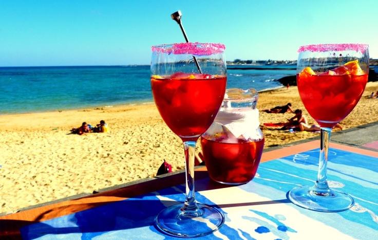 Sangria on Fuerteventura...