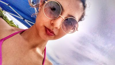 PinkCharm: #Vlog 1 - Viajem com  a família - Praia|Sol|Mar|Au...