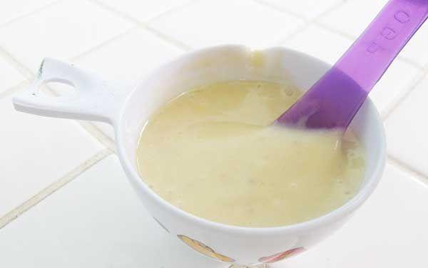 Máscara capilar de banana e mel - cabelos secos