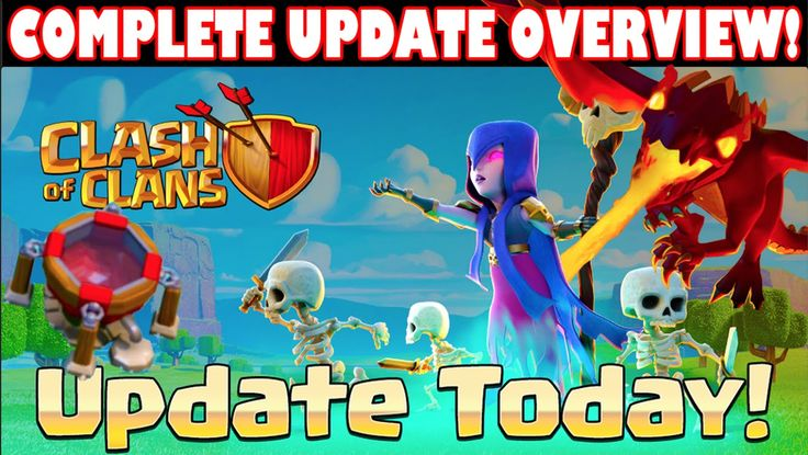 """Clash of Clans - """"SUMMER SEASON UPDATE IS OUT!"""" COMPLETE UPDATE SUMMARY! NEW DRAGONS + DARK SPELL FACTORY - http://yourtrustedhacks.com/clash-of-clans-summer-update-is-out-complete-update-overview-new-dragons-dark-spell-factory/"""