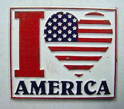I LOVE AMERICA ALL OF THE TIME, NOT JUST ON THE 4TH.  GOD BLESS THE USA AND OUR TROOPS!
