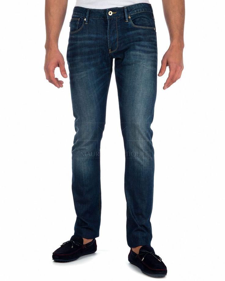 Pantalones Armani Jeans J06 - Denim Lavado