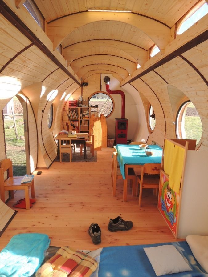 Shepherd and circus wagons: places to live and switch off – ALL ABOUT