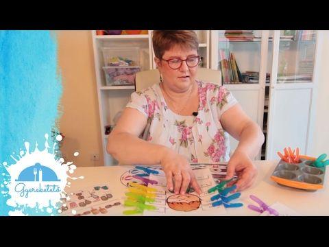 Gyereketető - Finommotorika fejlesztése ceruza nélkül - válogatás az első hetek videóiból - YouTube