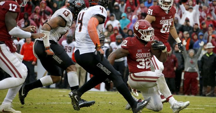 DEC  5, 2016 - OU football: Why OU running back Samaje Perine taking a knee instead of scoring a touchdown was the best play of Bedlam