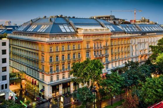 Grand Hotel Wien. Vienna, Austria