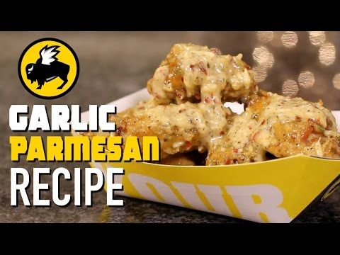 Parmesan Garlic Wing Recipe - Hellthy Junk Food