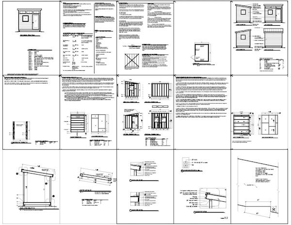The 25 best Shed plans 8x10 ideas on Pinterest