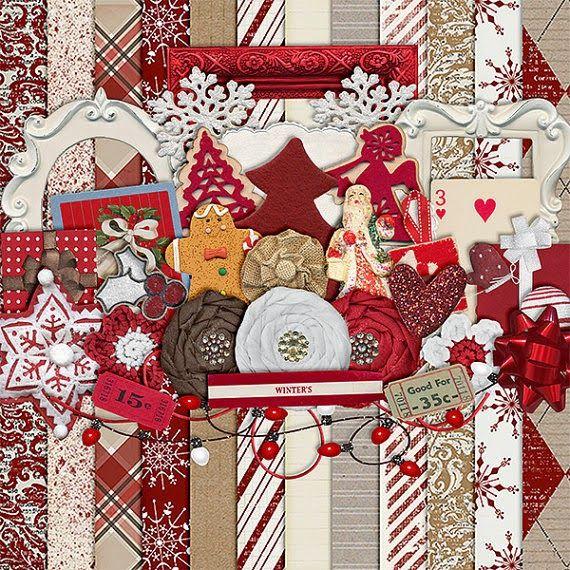 Scrapbooking TammyTags -- TT - Designer - Harper Finch, TT - Item - Kit or Collection, TT - Style - Sampler or Mini Kit, TT - Theme - Christmas
