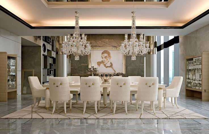 Numero Tre Collection www.turri.it Luxury dining room furniture