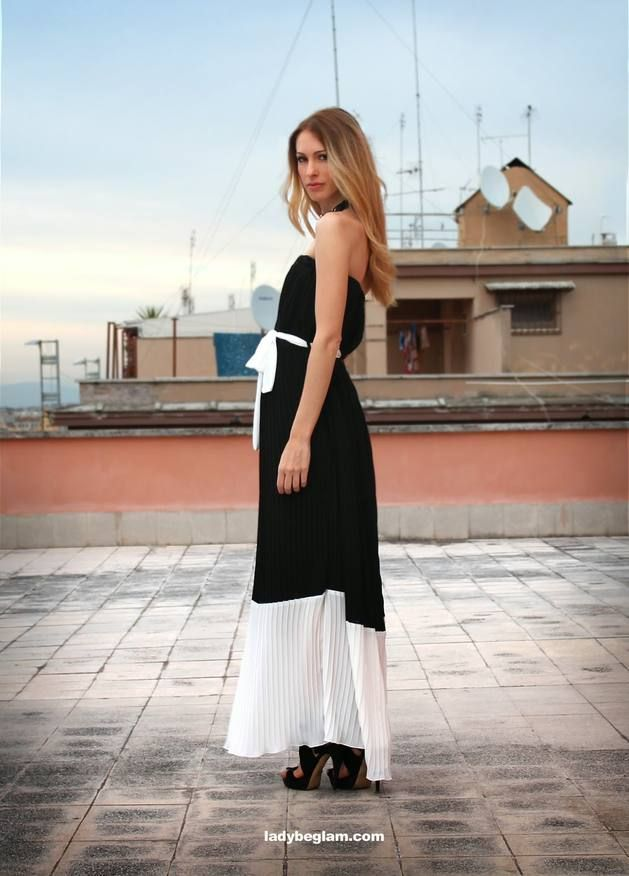 H2o Italia Black Off Shoulder Contrast White Hem And Waist Tie Pleated Maxi Sundress  # #Lady Be Glam #Summer Trends #Women's Fashion Bloggers #Bloggers Best Of #H2o Italia #Sundress Maxi #Maxi Sundresses #Maxi Sundress Black #Maxi Sundress H2o Italia #Maxi Sundress Pleated #Maxi Sundress Contrast White hem and Waist Tie #Maxi Sundress Off Shoulder #Maxi Sundress Outfit #Maxi Sundress 2014 #Maxi Sundress Looks #Maxi Sundress What To Wear With