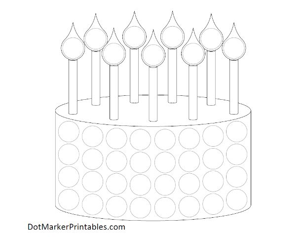Dot Marker Printables - Printable Dot Marker Pages for Kids