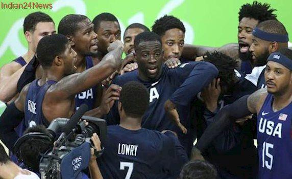 US men's basketball team begins 2020 Olympic road in Uruguay