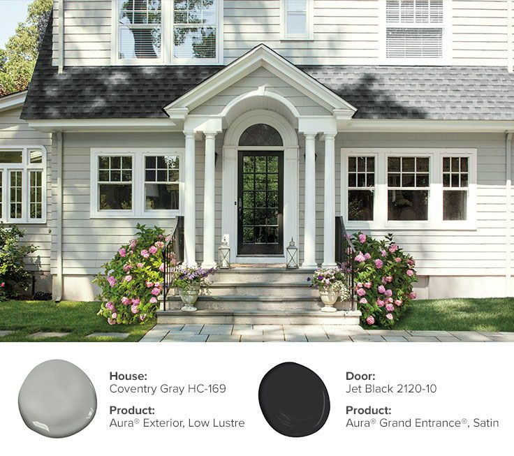 45 best home exterior paint colors images on pinterest - Benjamin moore exterior color combinations ...