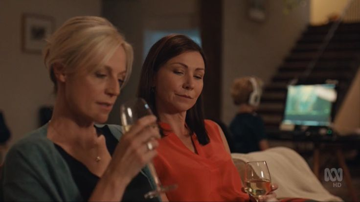 Marta Dusseldorp and Anita Hegh in Janet King season 3. Bianca Grieve, bianking.
