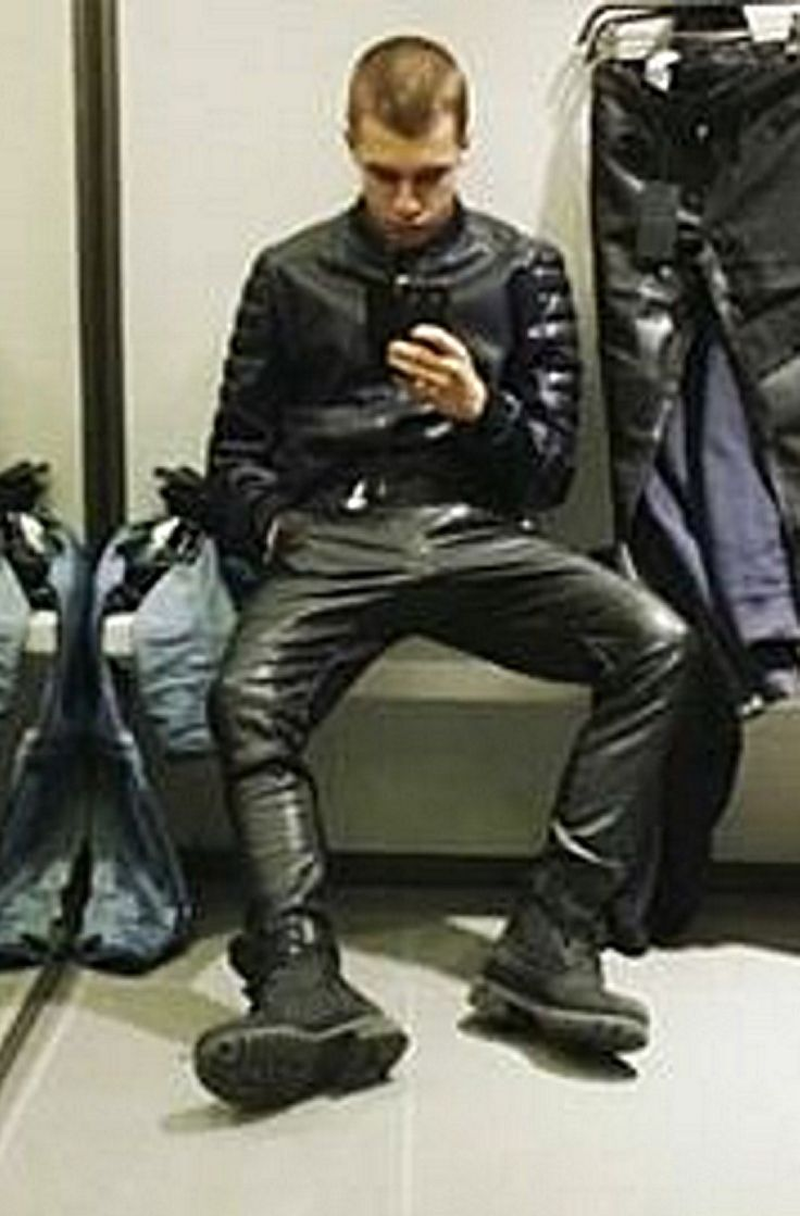 Cool Boys In Leather Lederanzug Pinterest Posts